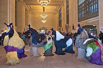 Nick Cave (performance artist) - HEARD•NY performance in Grand Central Terminal's Vanderbilt Hall