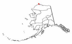 Location of Barrow, Alaska