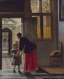 <i>A Boy Bringing Bread</i> painting by Pieter de Hooch