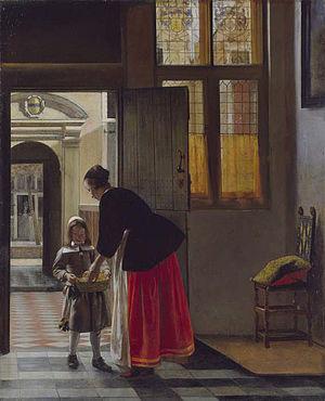 A Boy Bringing Bread - Image: A Boy Bringing Bread Pieter de Hooch
