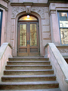 A Nero Wolfe Mystery brownstone on Upper West Side.jpg