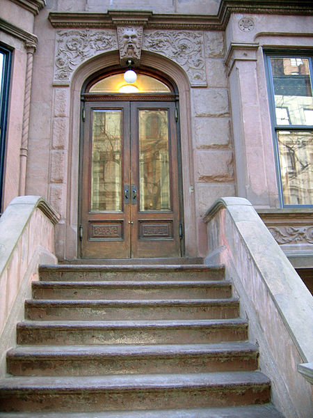 File:A Nero Wolfe Mystery brownstone on Upper West Side.jpg