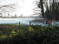 A chilly scene looking towards the football pitches in the recreation ground in Shalford Road - geograph.org.uk - 1631596.jpg