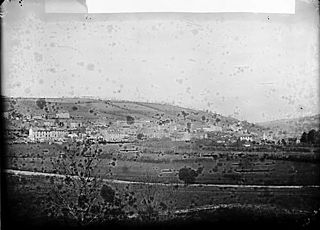 A view of Llandysul (Cer) from the quarry
