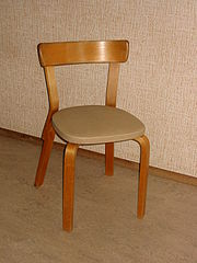 Aalto chair front