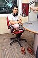 Aamir Khan at 92.7 BIG FM to promote Satyamev Jayate 05.jpg