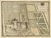 Abbaye de Bourgueil, plan général