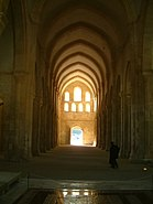 Abbaye de Fontenay - Abbatiale