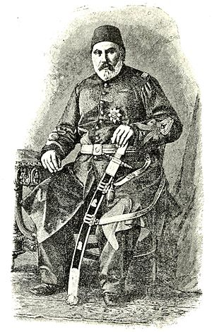 Serbian–Ottoman War (1876–1878) - Chief of General Staff of the Ottoman army Abdul Kerim
