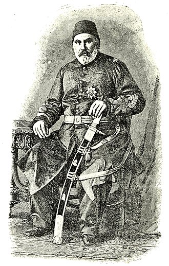 Serbian–Ottoman War (1876–1878) - Chief of General Staff of the Ottoman army Abdul Kerim