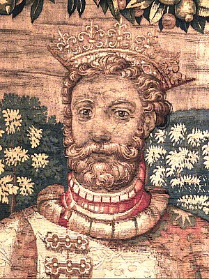Abel, King of Denmark - King Abel as depicted on the 16th century Kronborg tapestries