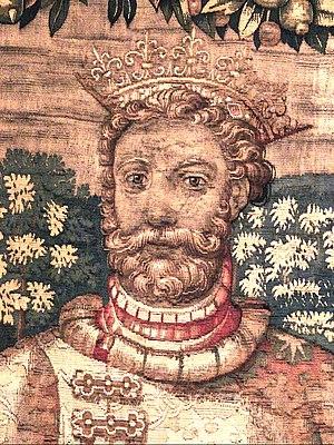 Abel, King of Denmark - King Abel as depicted on the 16th century Kronborg tapestries