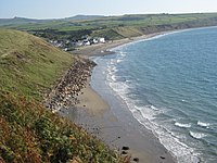 Aberdaron.. View from Coast Path. - panoramio.jpg