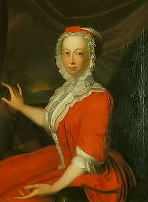 Anne, Princess Royal and Princess of Orange - Portrait by Bernard Accama, 1736