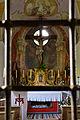 Achenkirch-Achental - Kalvarienbergkirche - Blick zum Altar durch das fotografenunfreundlich enge Gitter.jpg
