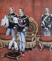 Achille Beltrame, Giuramento di Vittorio Emanuele III in Senato, 11 agosto 1900.jpg