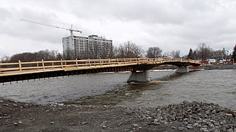 Bridge under construction April 2015