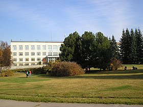 Administration building of the Central Siberian Botanical Garden.jpg