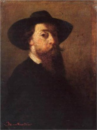 Adolphe Monticelli - Adolphe Monticelli, Self-portrait