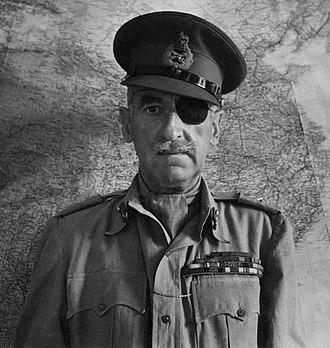 61st Infantry Division (United Kingdom) - Major-General Adrian Carton de Wiart held command of the division from November 1939 until April 1941.