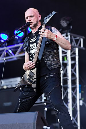 Ares (musician) - Ares live with Aeternus in 2015 at Party.San Open Air