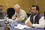 Afghan, Marine leadership discuss Afghan Uniformed Police recruitment numbers DVIDS308155.jpg