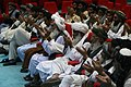 Afghan men pray during the Voices of Religious Tolerance (VORT) conference on moderate Islam at the King Abdula mosque in Amman, Jordan, April 21, 2011 110421-M-GW940-046.jpg