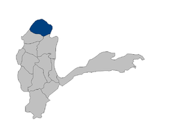 Location of Darwaz درواز Darvaz