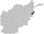 Afghanistan Kunar Province location.PNG
