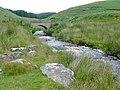 Afon Doethie Fawr below Blaendoethie, Ceredigion - geograph.org.uk - 1421764.jpg