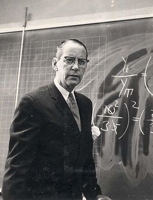 Math and physics teacher at a junior college in Sweden, in the 1960s Agnar O.P. Strandberg 1964.jpg
