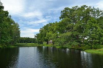Ahja - Small lake on Ahja territory.