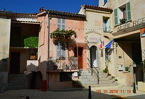 Aiglun, Alpes-Maritimes - The Town Hall