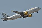 Airbus A320-200 Vueling AL (VLG) EC-JFH - MSN 2104 - Named vueling Rocks My World - Now in Iberia Express fleet (9592314759).jpg