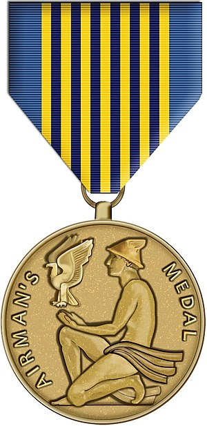 Awards and decorations of the United States Air Force - Image: Airman's Medal