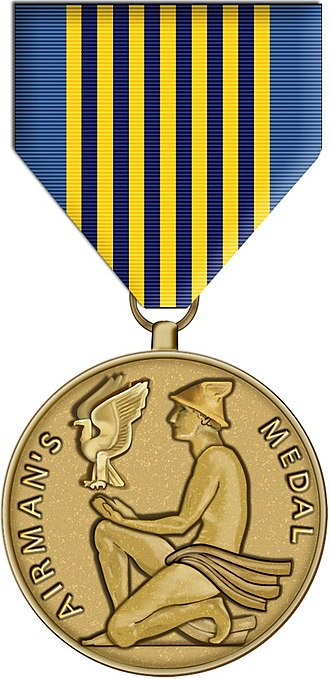 Airman's Medal - Obverse of the Airman's Medal