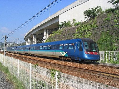 Tung Chung line A-stock train