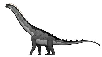 Alamosaurus - Hypothetical restoration