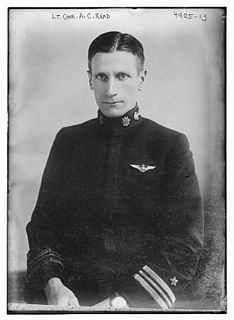 Albert Cushing Read United States Navy admiral and aviator