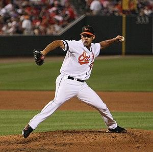 Alberto Castillo (pitcher) - Castillo with the Baltimore Orioles