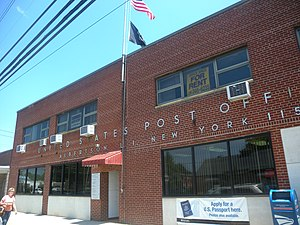 Albertson, New York - Post office