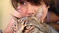 Alda Teodorani with her cat.jpg