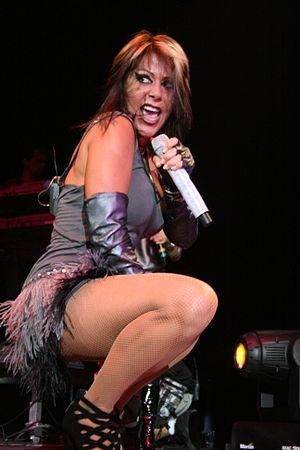 9th TVyNovelas Awards - Alejandra Guzmán, Winner for Most Outstanding Female Singer