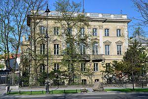 Franz Kutschera - Leszczyński Palace Ujazdowskie 23