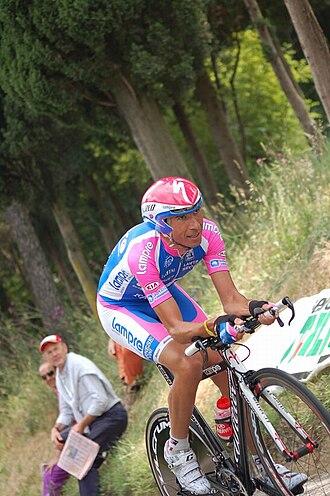 Alessandro Spezialetti - Spezialetti at the 2010 Giro d'Italia.