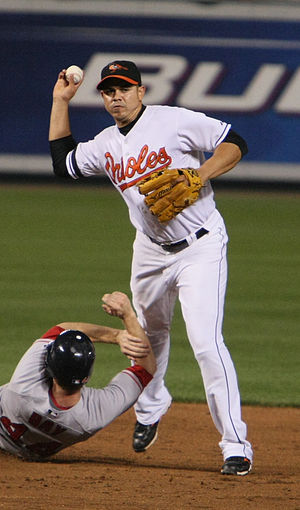 Alex Cintrón - Cintrón with the Baltimore Orioles