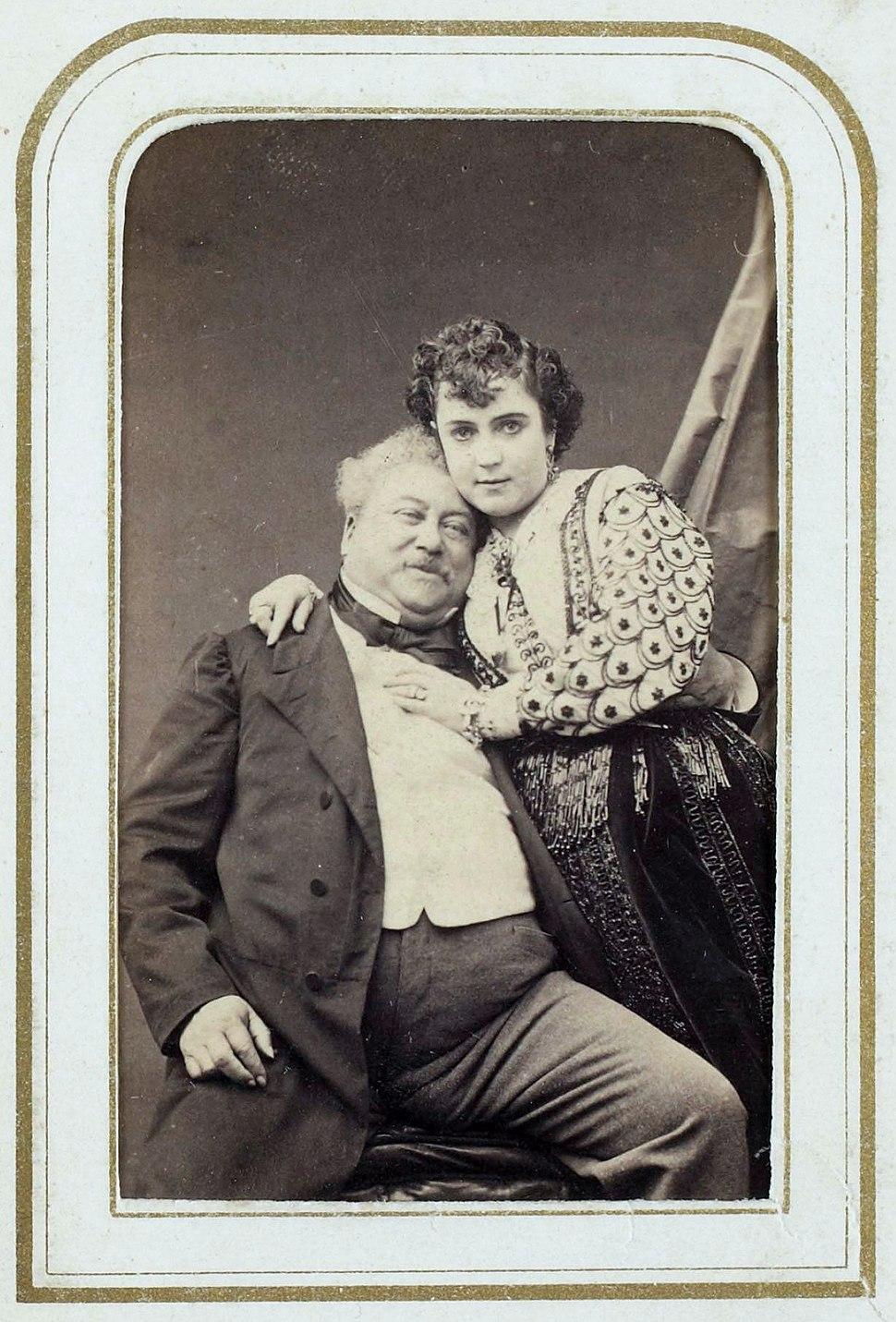 Alexandre Dumas & Adah Isaacs Menken