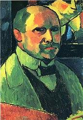 Aleksej von Jawlensky: Selbstbildnis 1912