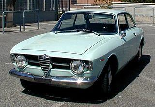 Alfa Romeo 105/115 Series Coupés Motor vehicle
