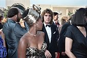 Woodard with her husband Roderick Spencer at the 1987 Emmy Awards.